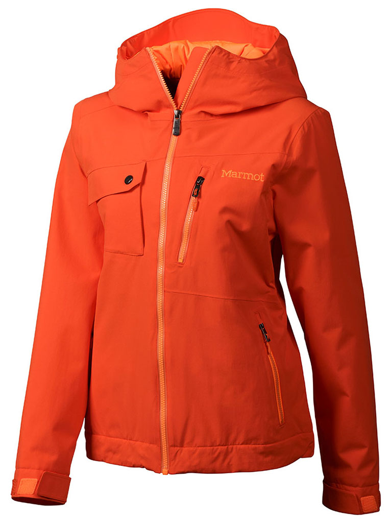 Marmot Wm's Free Skier Jacket Coral Sunset-30