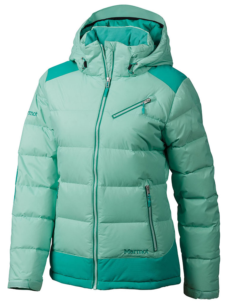 Marmot Wm's Sling Shot Jacket Green Frost/Gem Green-30
