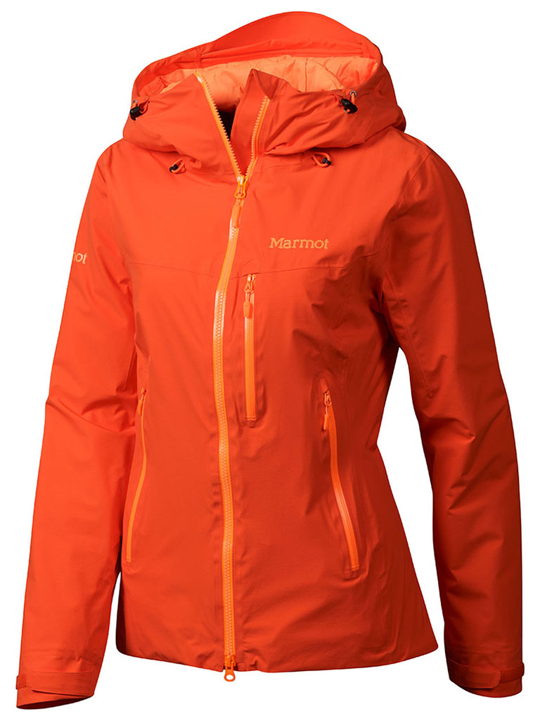 Marmot Wm's Headwall Jacket Coral Sunset-30