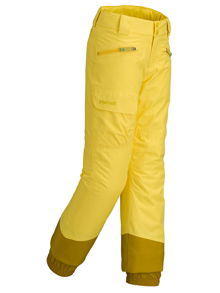Marmot Girl's Freerider Pant Vibrant Yellow-30