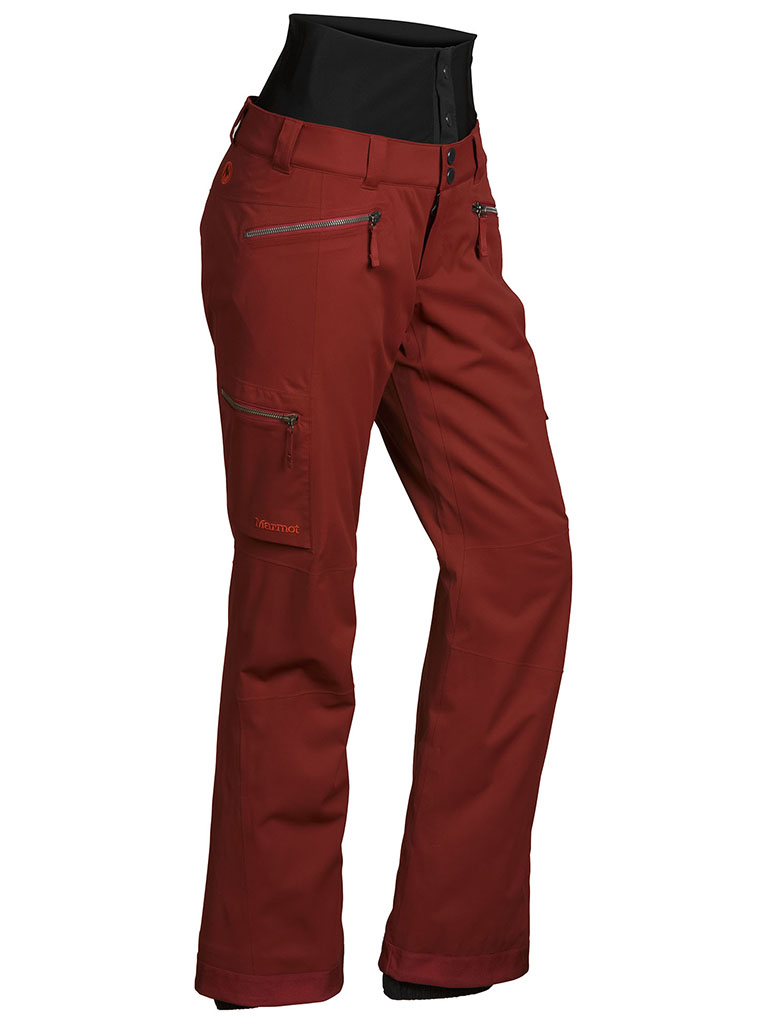 Marmot Wm's Jezebel Pant Dark Crimson-30