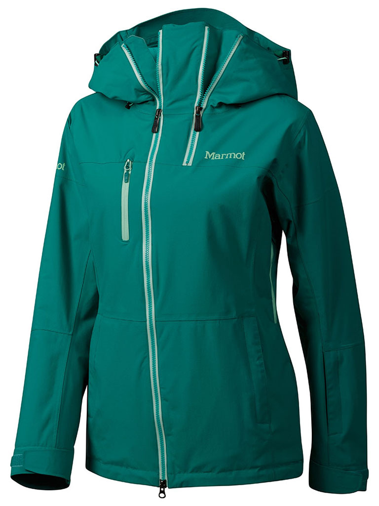 Marmot Wm's Dropway Jacket Green Garnet-30