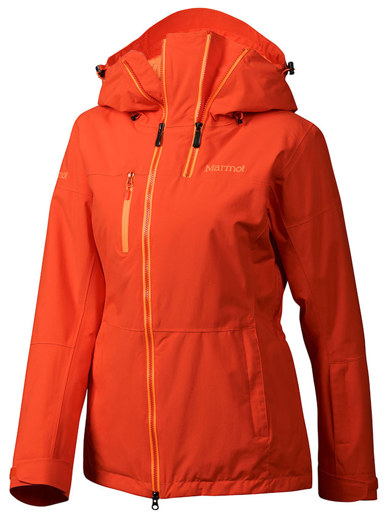 Marmot Wm's Dropway Jacket Coral Sunset-30