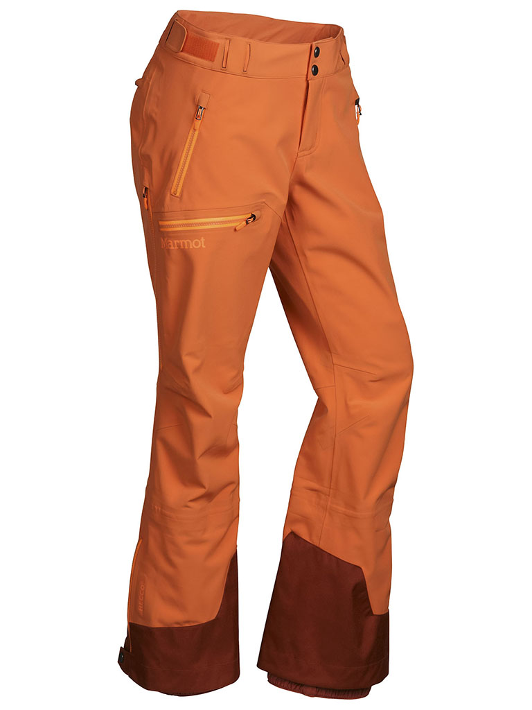 Marmot Wm's Storm Queen Pant Orange Coral-30