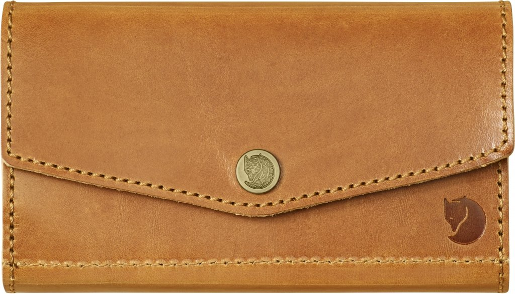 FjallRaven Bullet Case Leather Cognac-30