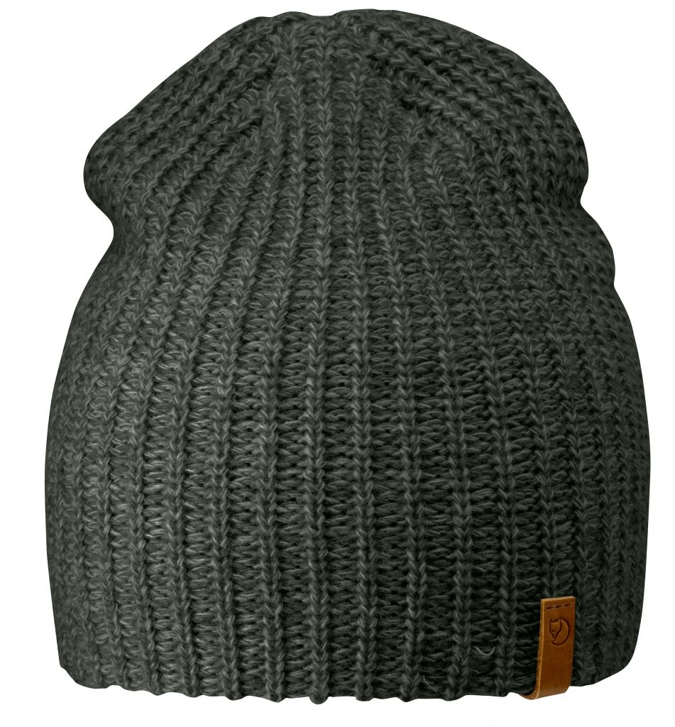 FjallRaven Övik Melange Beanie Mountain Grey-30