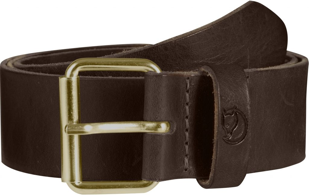 FjallRaven Sarek Belt 4 cm. Leather Brown-30