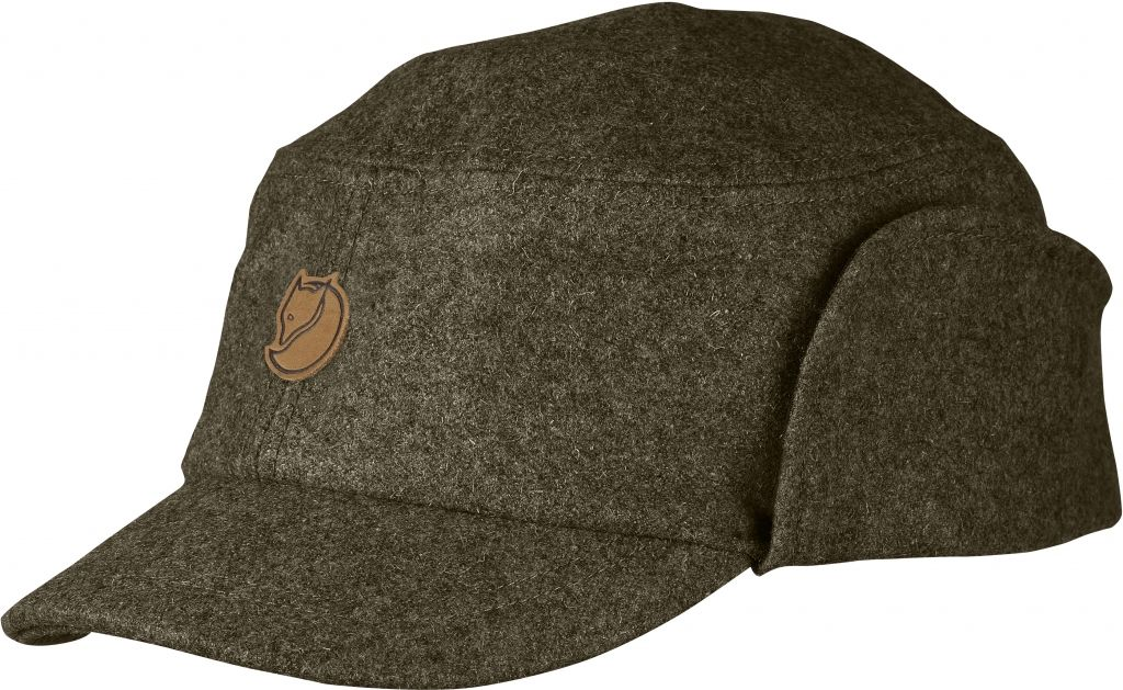 FjallRaven - Sarek Winter Cap Dark Olive - Hats & Caps - M