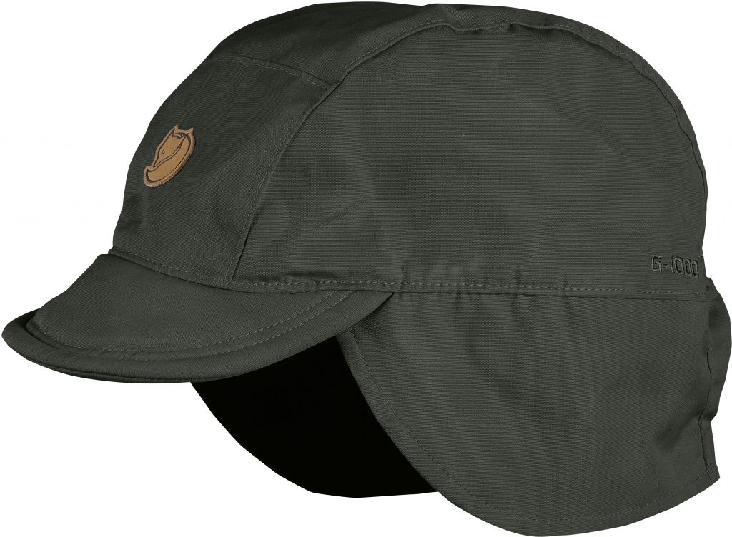 FjallRaven Sarek Field Cap Mountain Grey-30