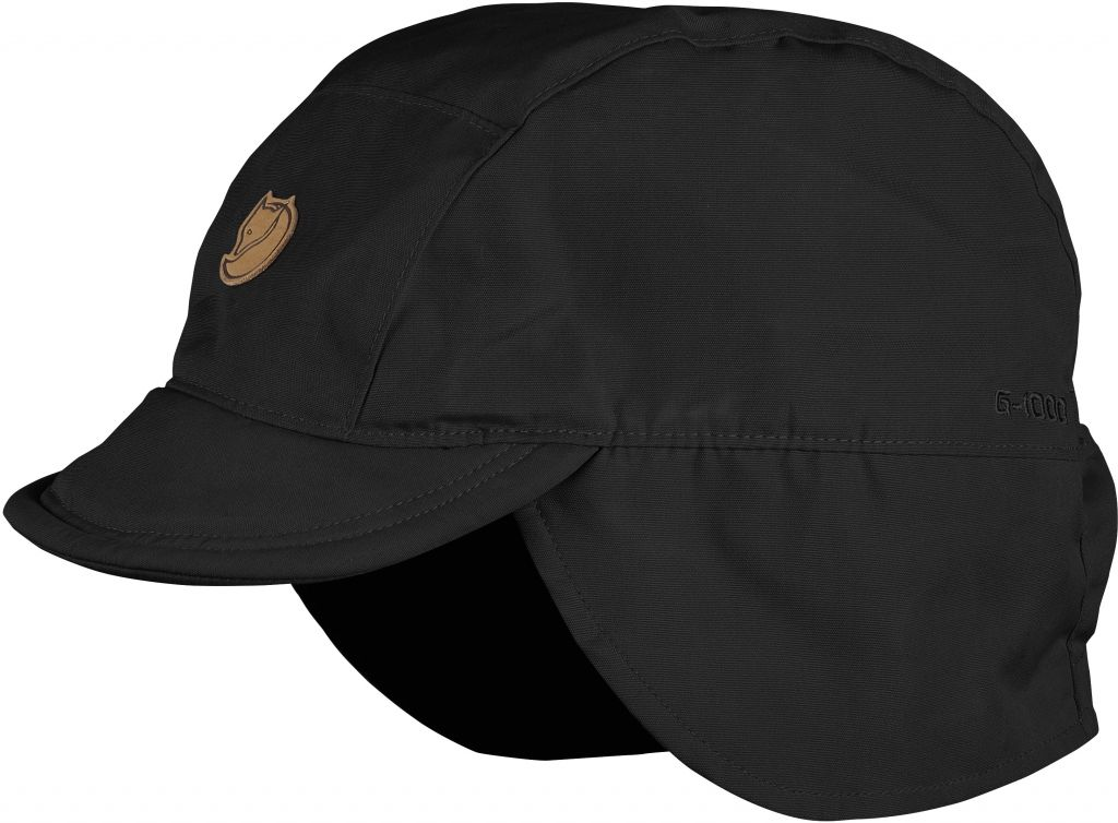 FjallRaven Sarek Field Cap Black-30