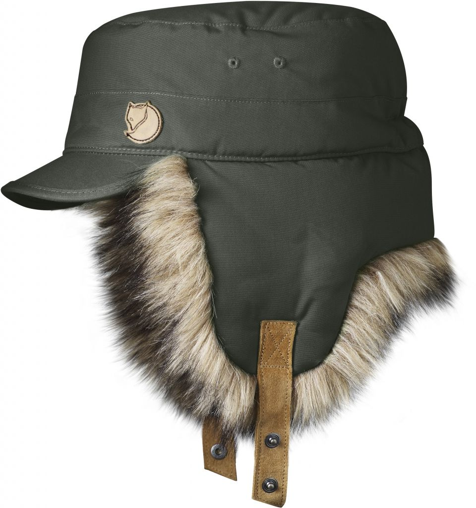 FjallRaven Woodsman Cap Mountain Grey-30