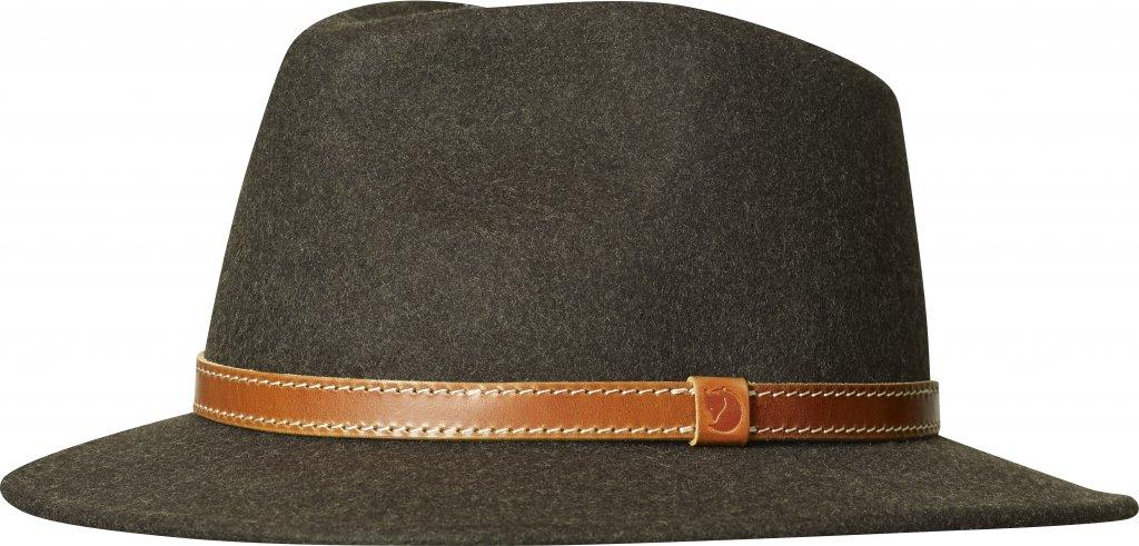 FjallRaven Sormland Felt Hat Dark Olive-30