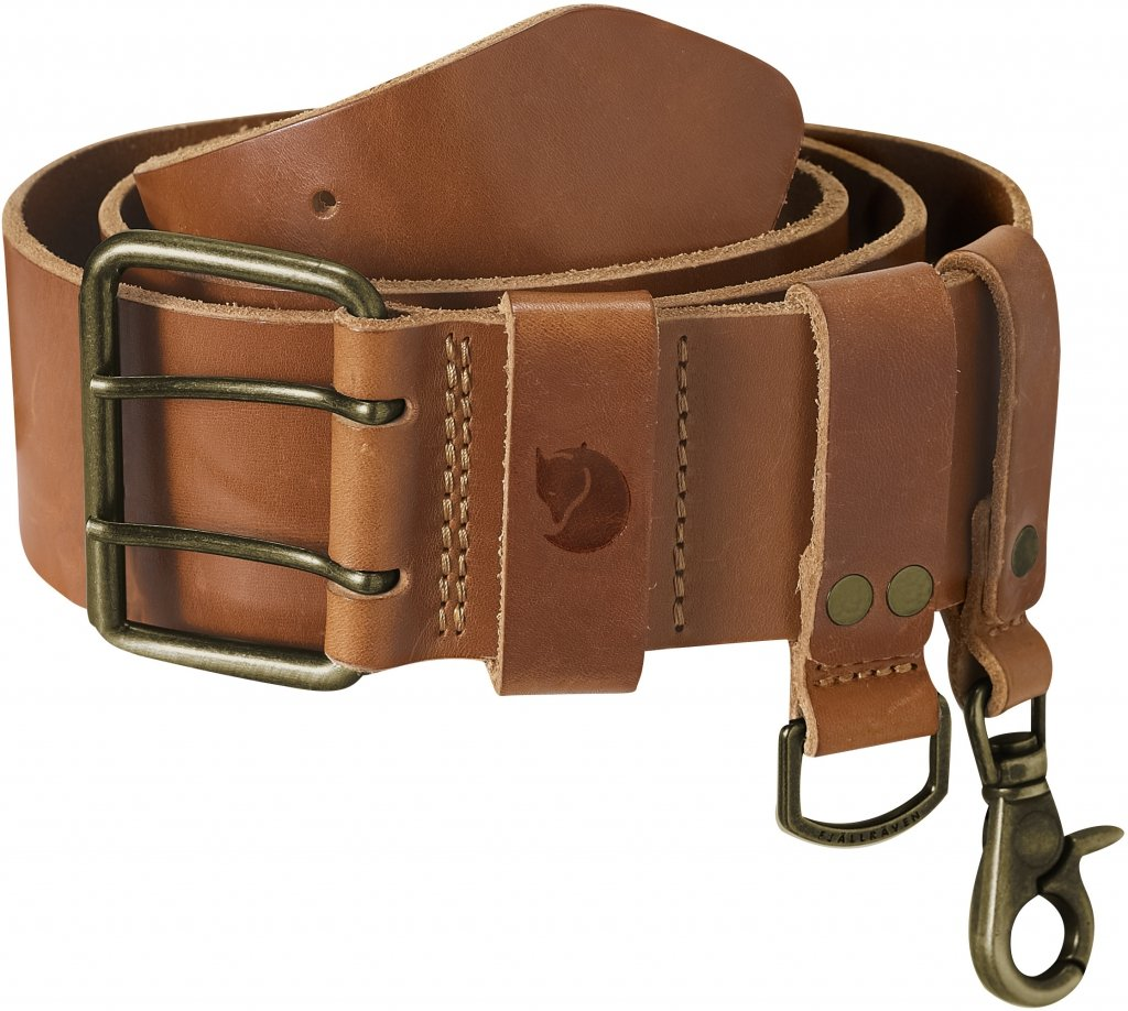 FjallRaven Equipment Belt Leather Cognac-30