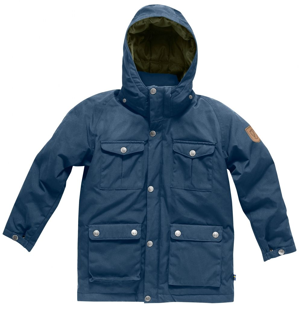 FjallRaven Kids Greenland Down Parka Uncle Blue-30