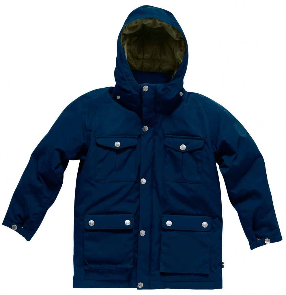 FjallRaven Kids Greenland Down Parka Ink Blue-30