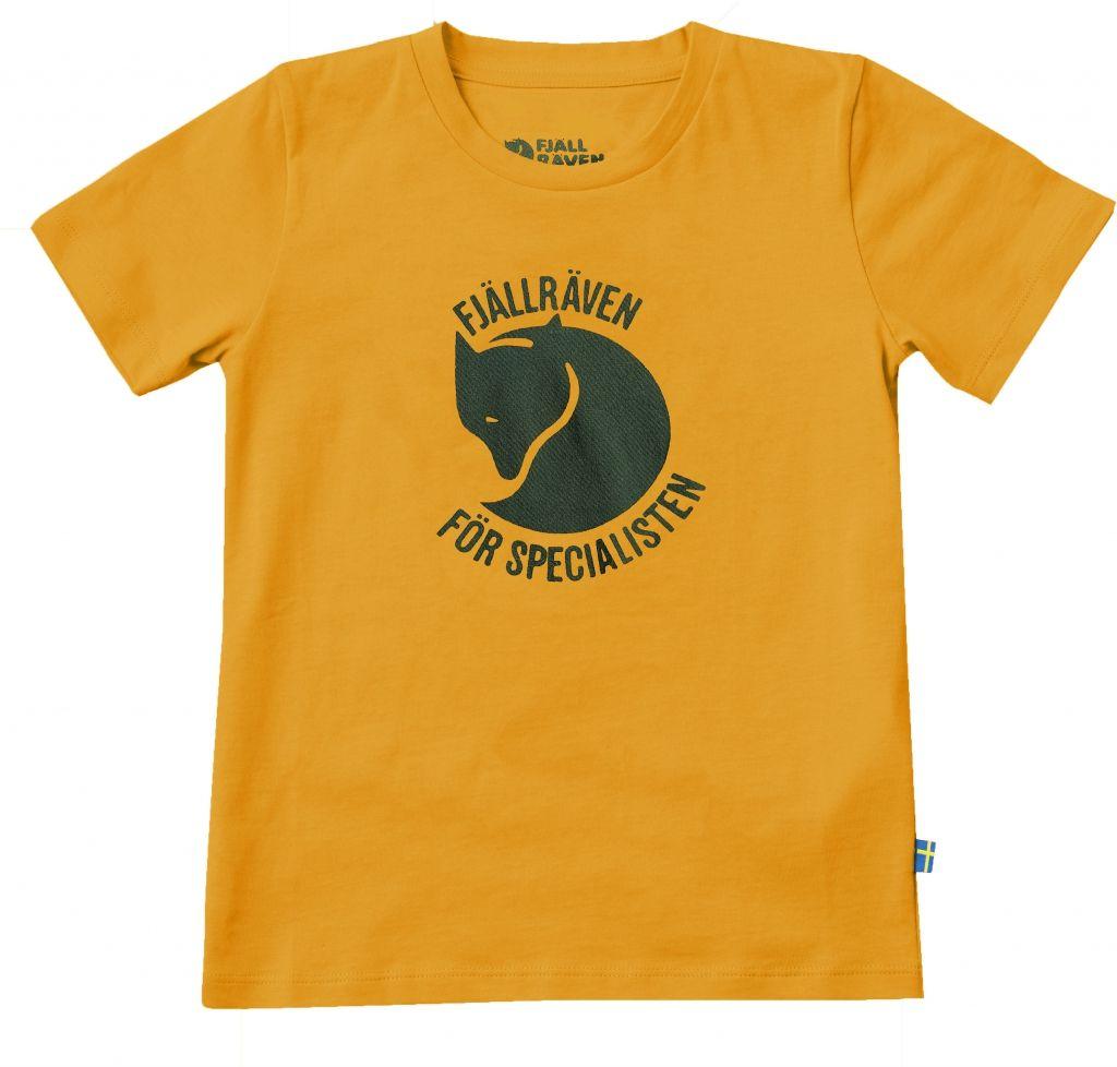 FjallRaven Specialisten T-shirt Kids Campfire Yellow-30