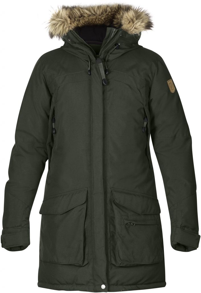 FjallRaven Kyla Parka Mountain Grey-30