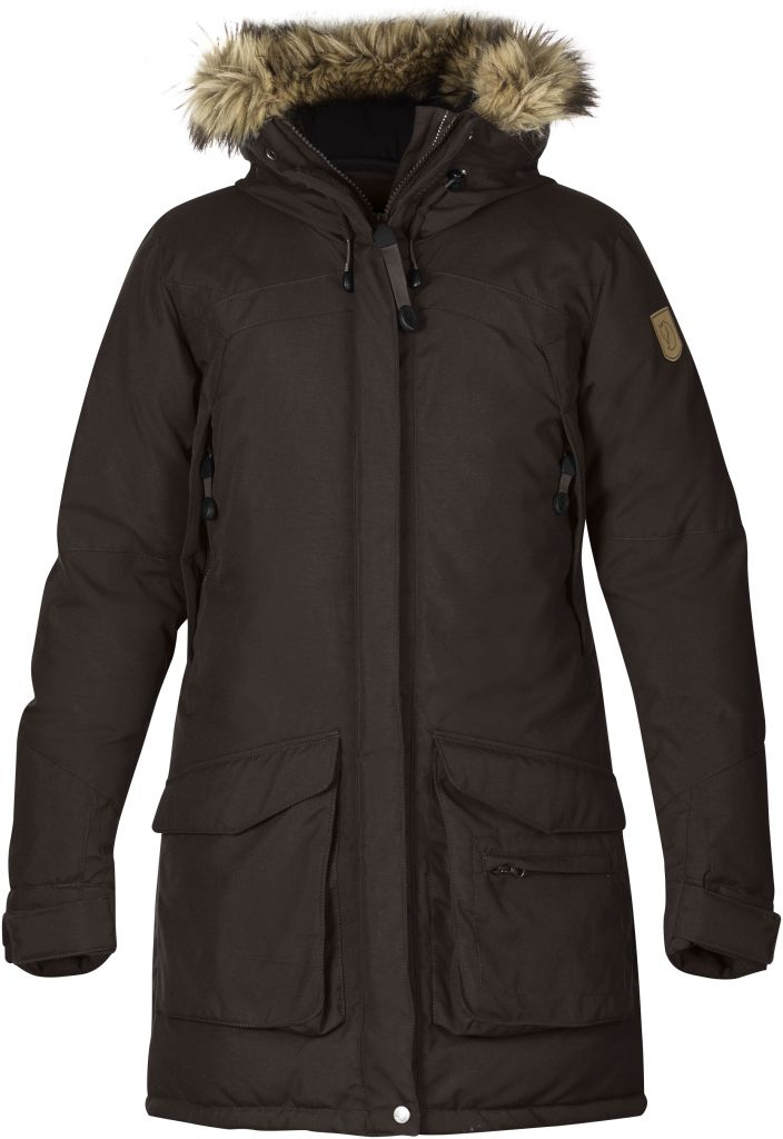 FjallRaven Kyla Parka Black Brown-30