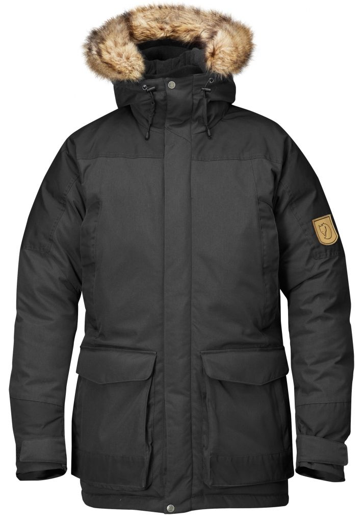 FjallRaven Kyl Parka Dark Grey-30