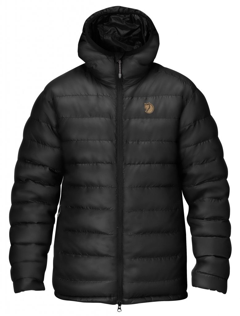 FjallRaven Pak Down Jacket Black-30