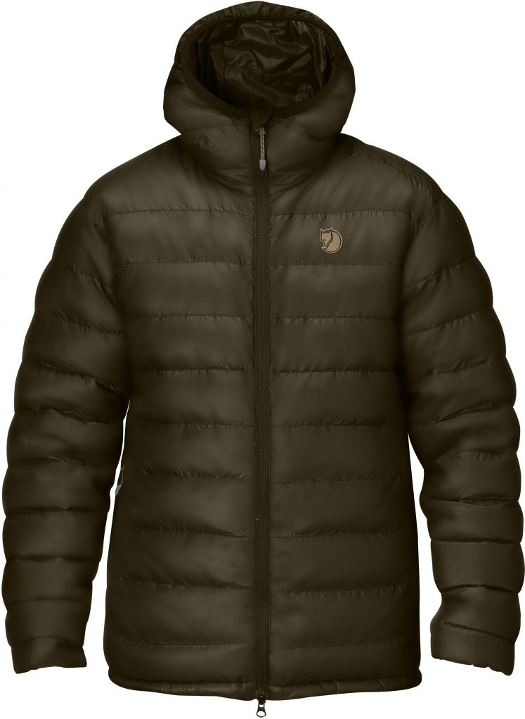 FjallRaven Pak Down Jacket Dark Olive-30