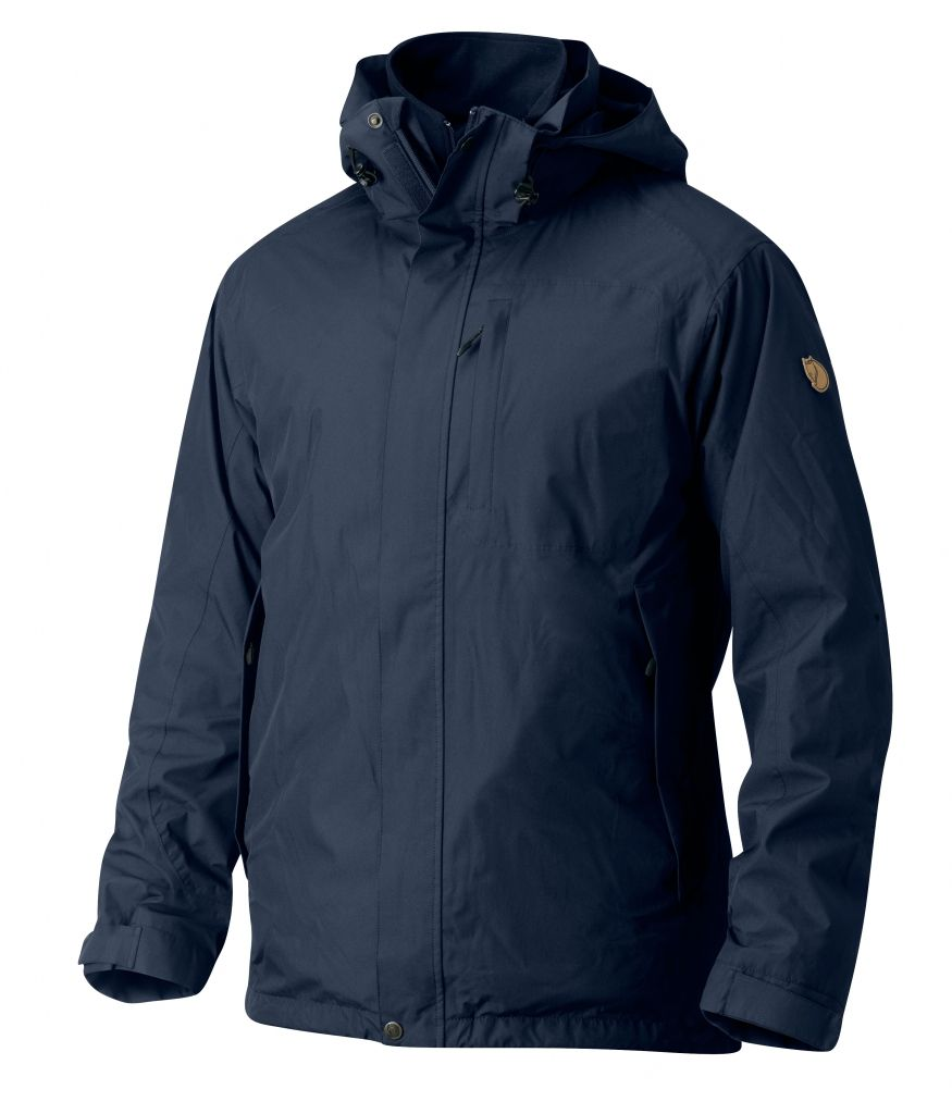 FjallRaven Stuga 3 in 1 Jacket Dark Navy-30