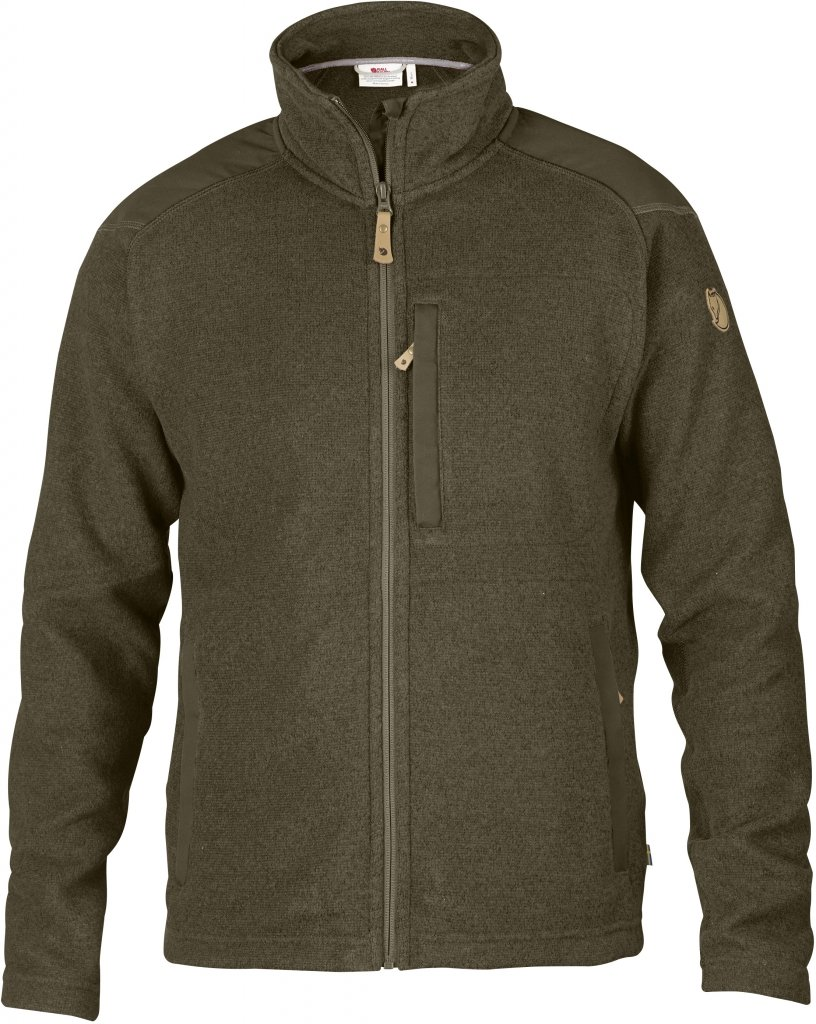FjallRaven Buck Fleece Dark Olive-30