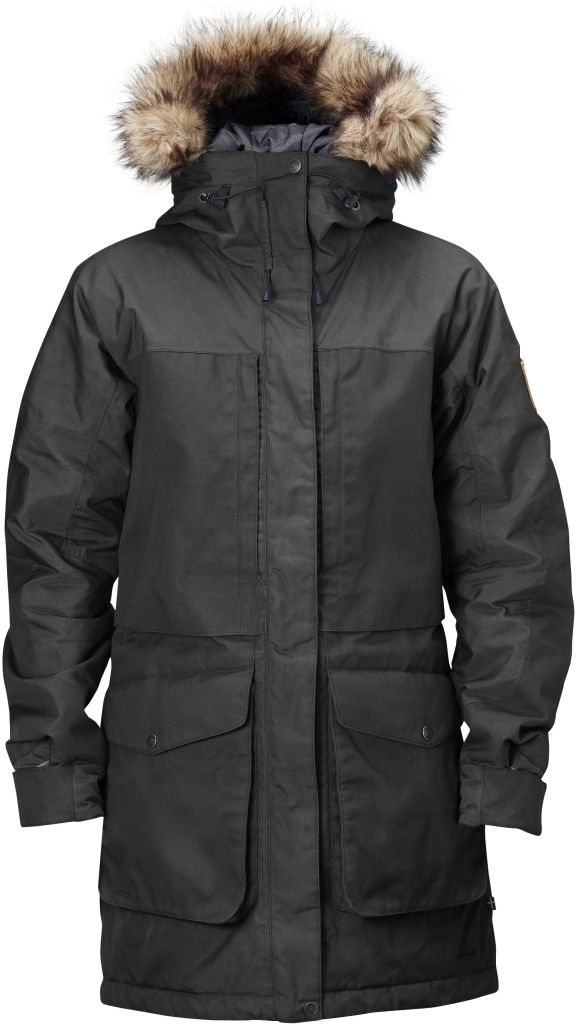 FjallRaven - Barents Parka Dark Grey - Isolation & Winter Jackets - XXL