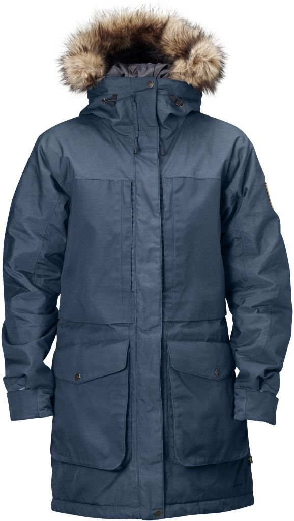 FjallRaven Barents Parka Uncle Blue-30