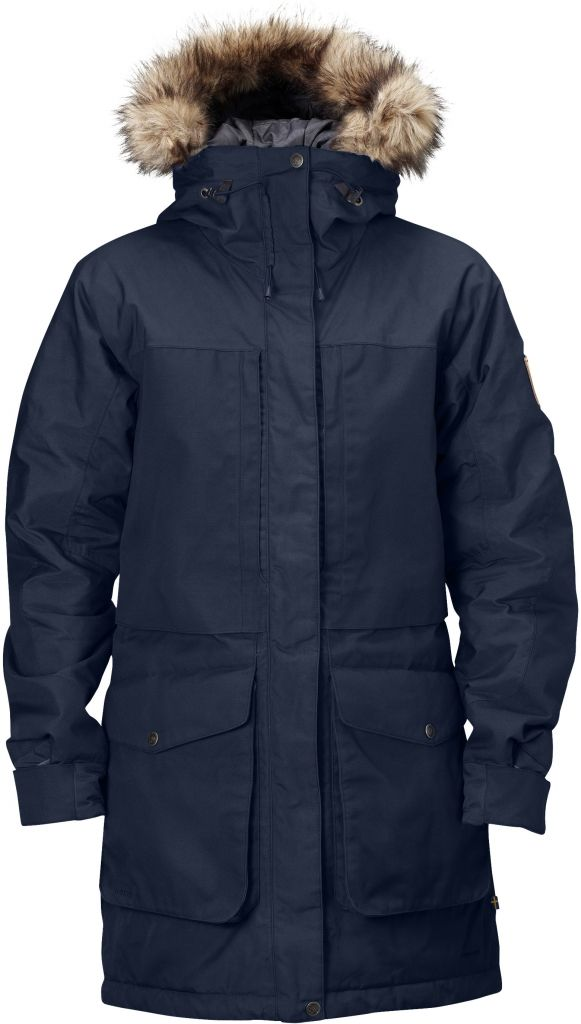 FjallRaven - Barents Parka Dark Navy - Isolation & Winter Jackets - L