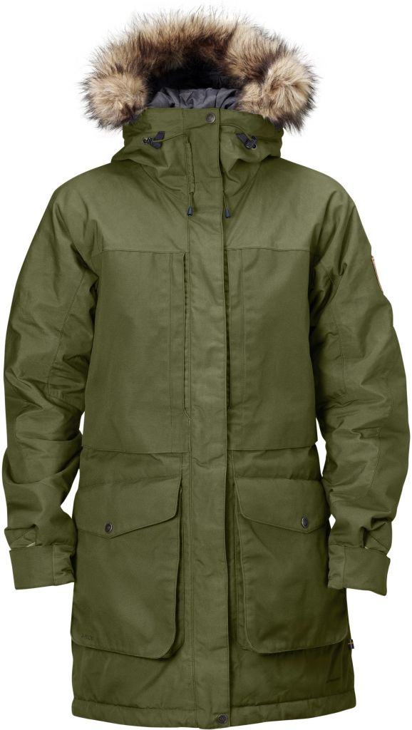 FjallRaven - Barents Parka Green - Isolation & Winter Jackets - XL
