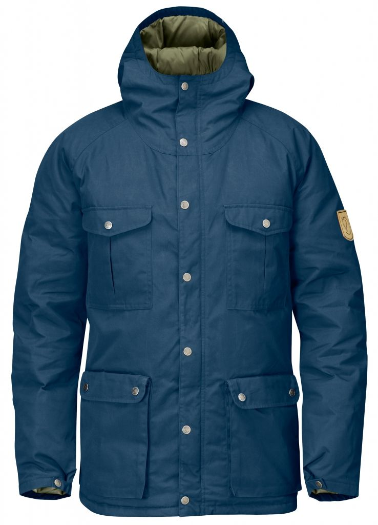 FjallRaven - Greenland Down Jacket Uncle Blue - Down Jackets - M