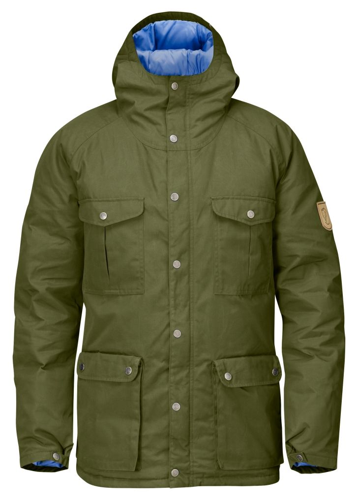 FjallRaven Greenland Down Jacket Green-30
