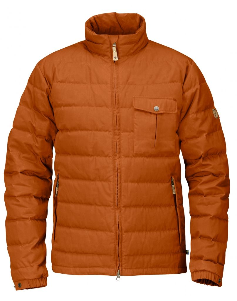 FjallRaven Övik Lite Jacket Autumn Leaf-30