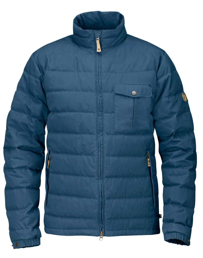 FjallRaven Övik Lite Jacket Uncle Blue-30