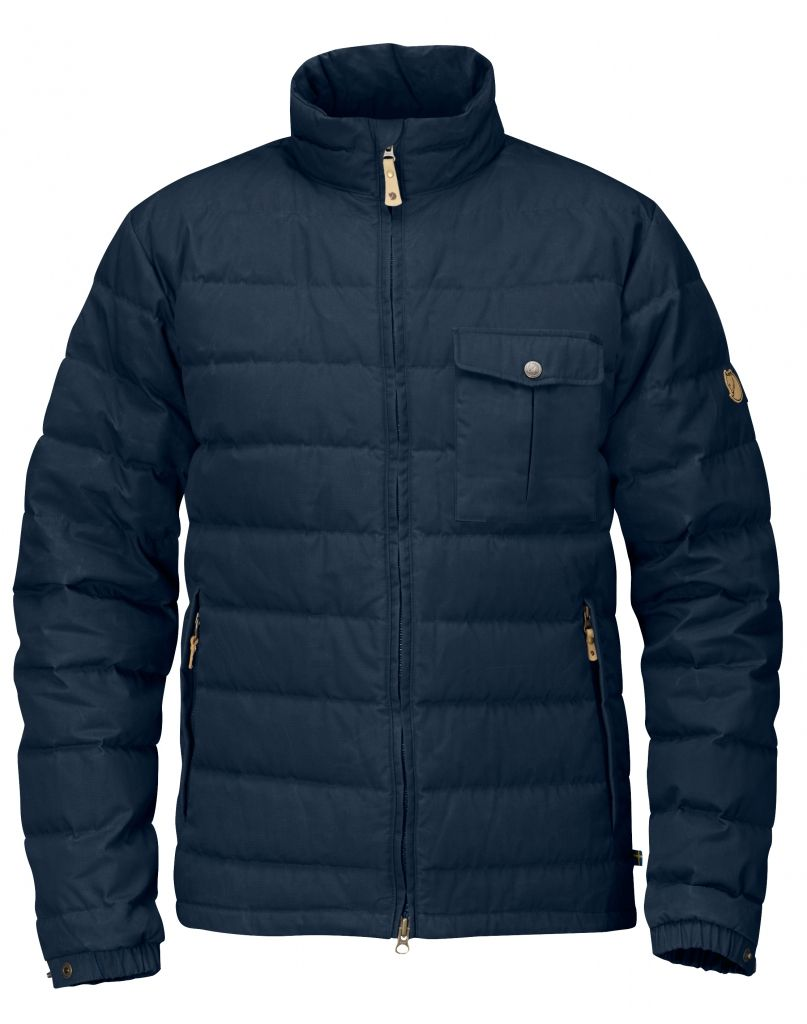 FjallRaven Övik Lite Jacket Dark Navy-30
