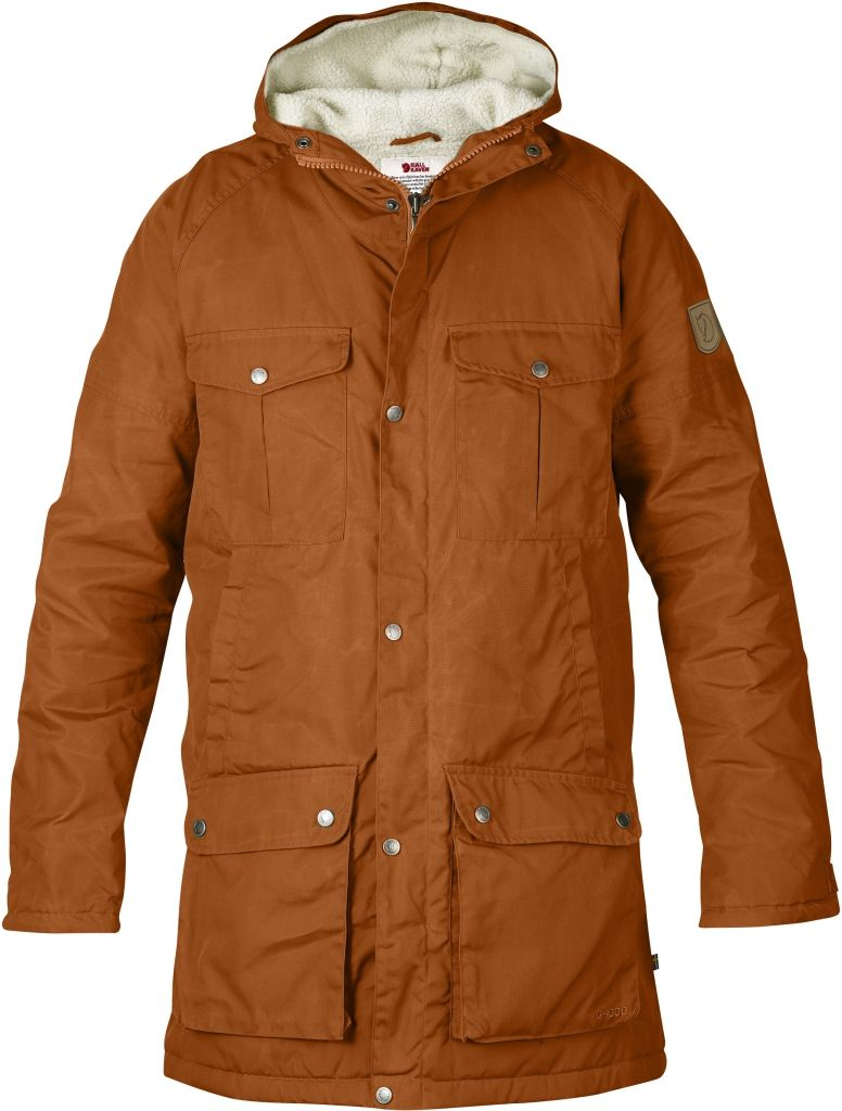 FjallRaven Greenland Winter Parka Autumn Leaf-30
