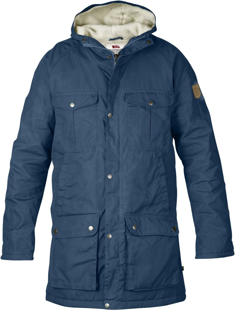 FjallRaven Greenland Winter Parka Uncle Blue-30