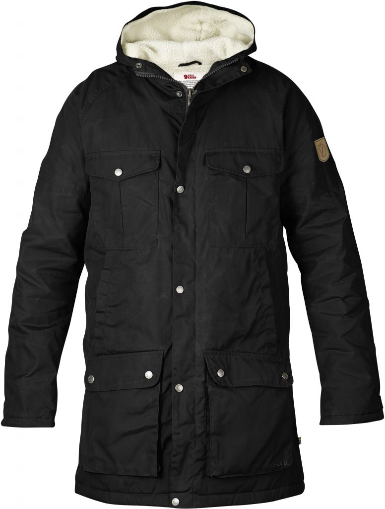 FjallRaven - Greenland Winter Parka Black - Isolation & Winter Jackets - M
