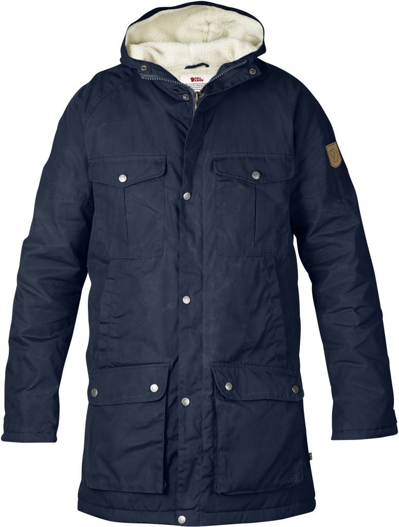 FjallRaven - Greenland Winter Parka Dark Navy - Isolation & Winter Jackets -