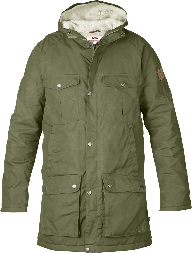 FjallRaven - Greenland Winter Parka Green - Isolation & Winter Jackets - XL