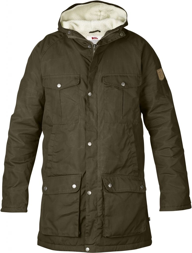 FjallRaven - Greenland Winter Parka Dark Olive - Isolation & Winter Jackets - XXL