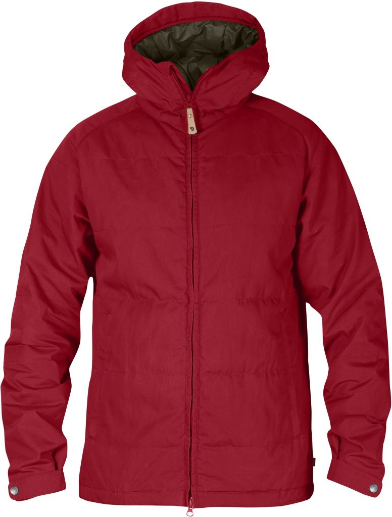 FjallRaven Övik Loft Jacket Deep Red-30