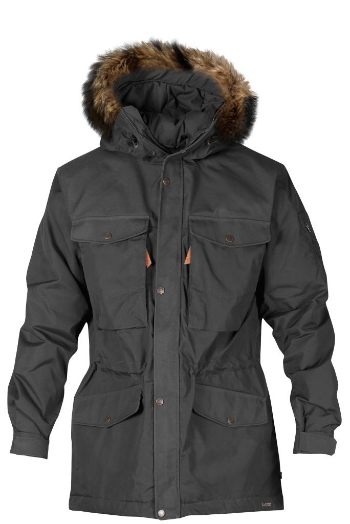 FjallRaven Sarek Winter Jacket Dark Grey-30