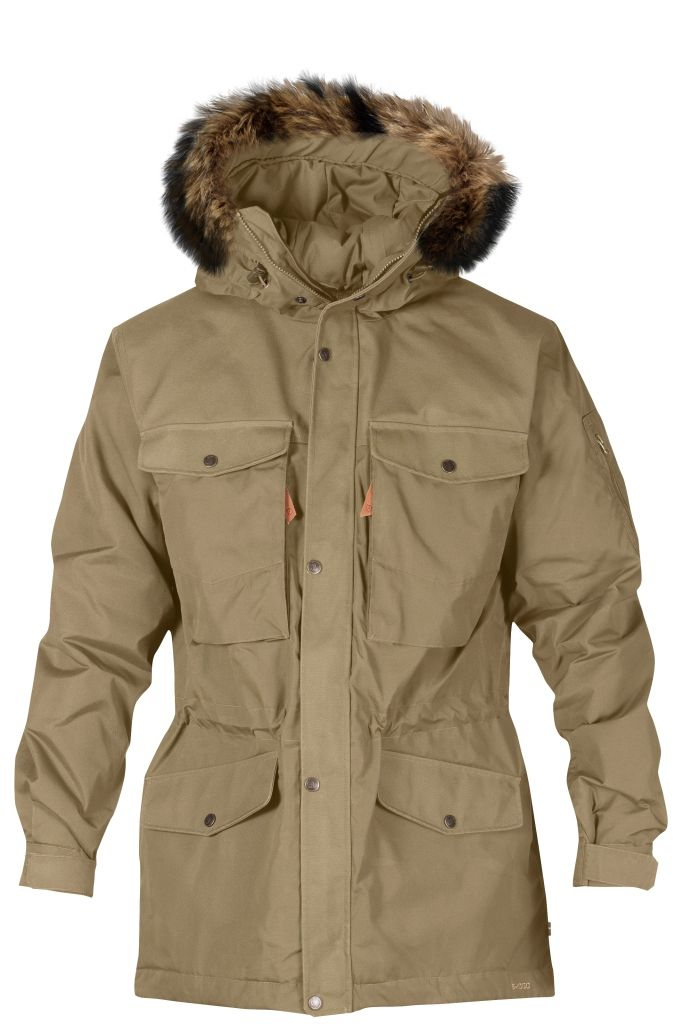 FjallRaven - Sarek Winter Jacket Sand - Isolation & Winter Jackets - S