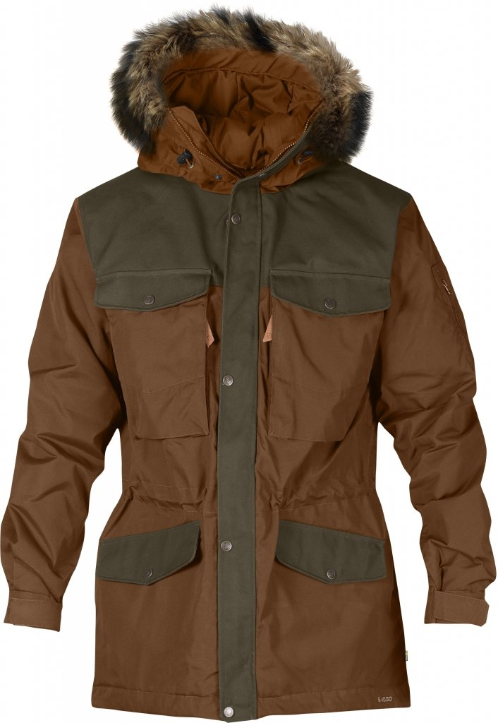 FjallRaven Sarek Winter Jacket Chestnut-30
