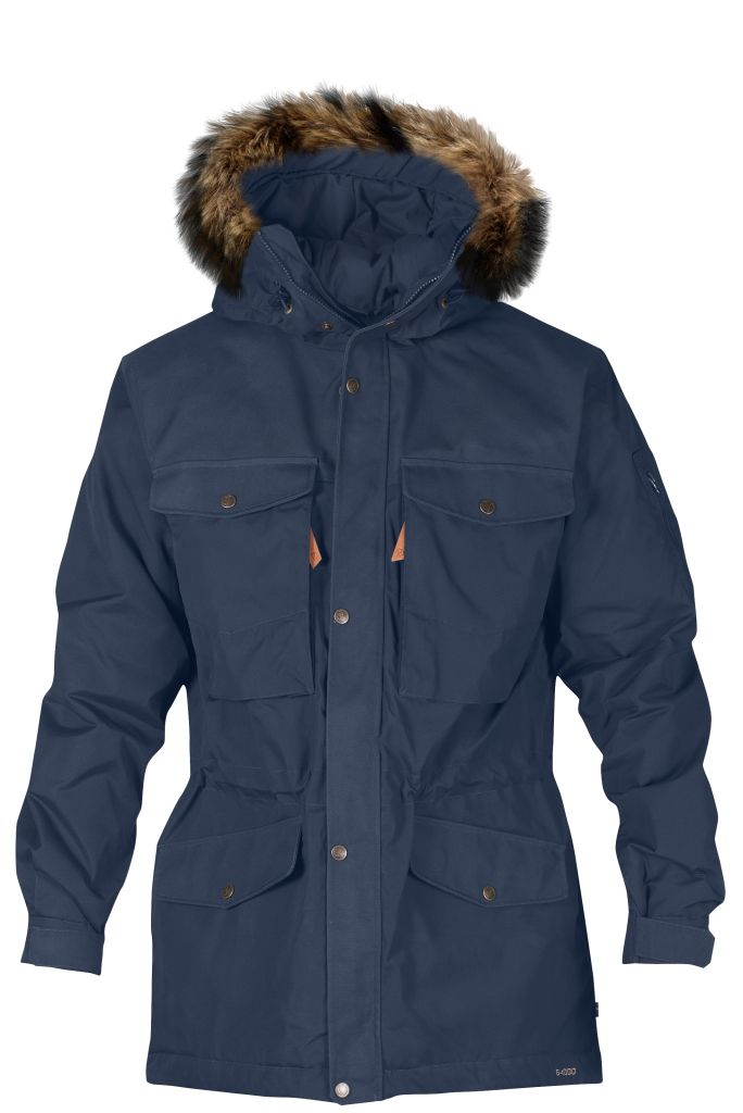 FjallRaven - Sarek Winter Jacket Dark Navy - Isolation & Winter Jackets - XXL