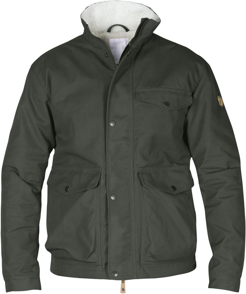 FjallRaven Övik Winter Jacket Mountain Grey-30