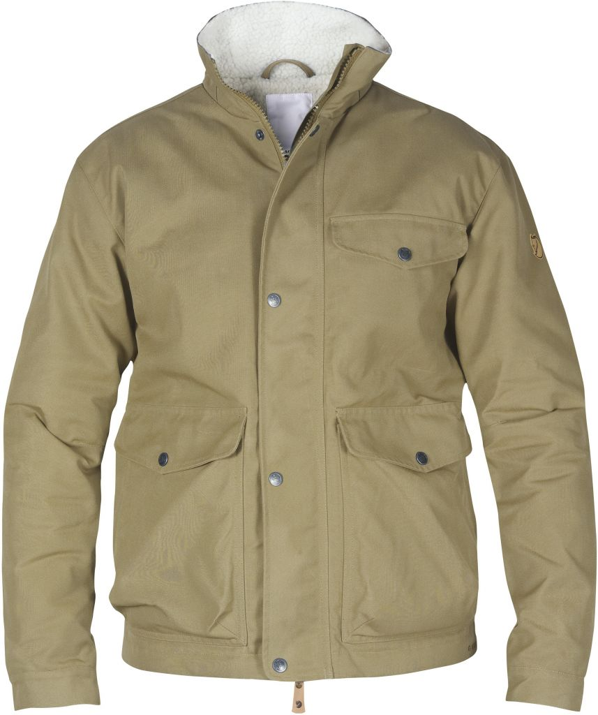 FjallRaven Övik Winter Jacket Sand-30