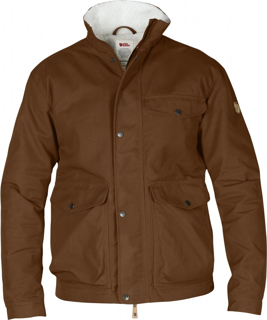 FjallRaven Ovik Winter Jacket Chestnut-30